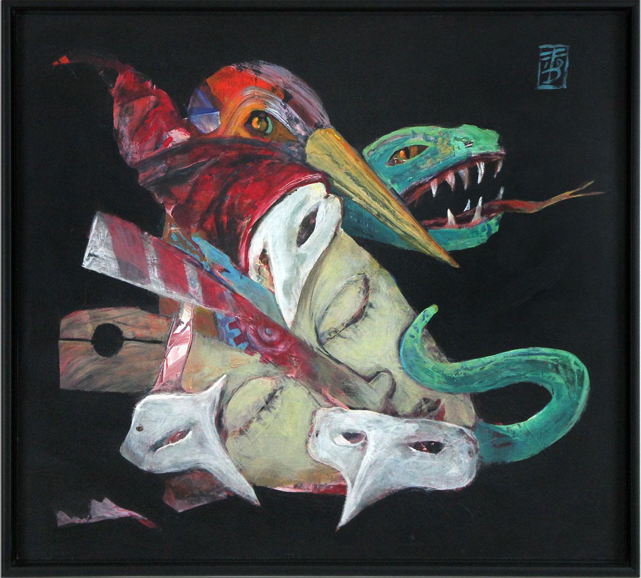 Surrealistische Acrylmalerei Von Dirk Hillea Hier Entdecken Und Kaufen Kunstgalerie Eventart Die Kunstmacher