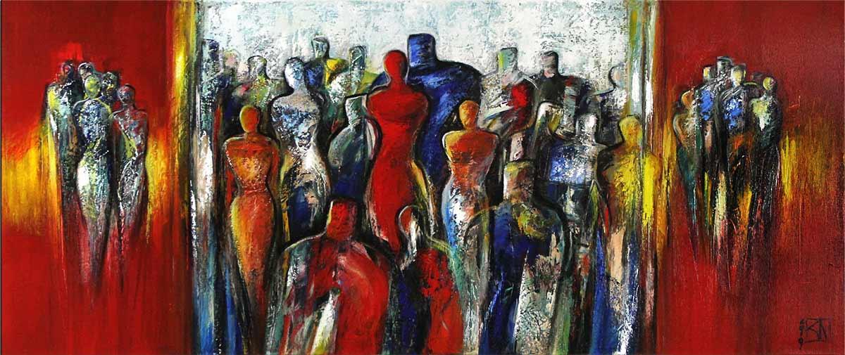 Figurative Abstraktion von Koroush Namazi