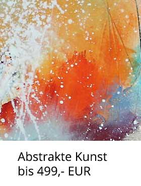 Abstrakte Kunst bis 499,- EUR kaufen