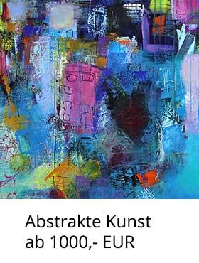 Abstrakte Kunst ab 1000,- EUR kaufen