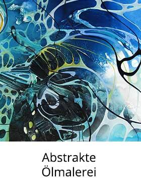 Abstrakte Kunst: Ölmalerei