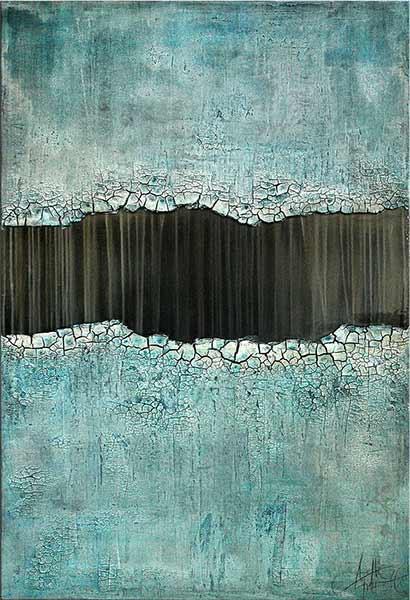 Abstrakte Kunst mit Struktur