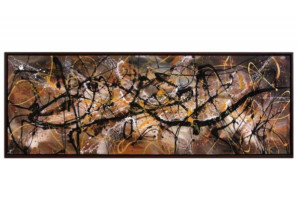 """Acrylgemälde, G. Hung: """"Neustrukturierung II"""""""
