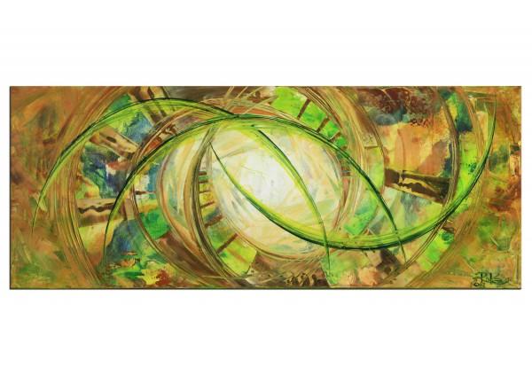 """Gemälde abstrakt, R.König: """"Revival of Nature"""" (ri)"""