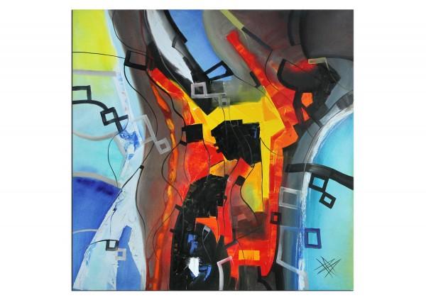 "Moderne Ölbilder, B. Ossowski: ""Colours Composition"""