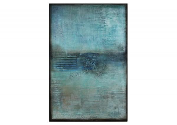 "Acrylmalerei abstrakt, A. Freymuth: ""In der Ferne"""