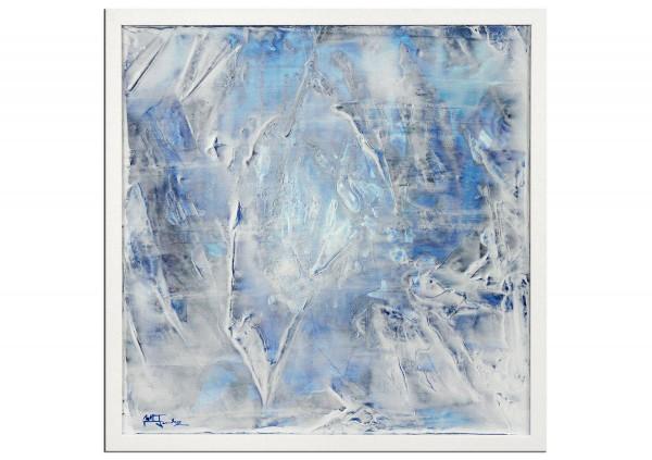 "Modernes Kunstbild, Julio Fernandez: ""Wintersee I"" (ri)"