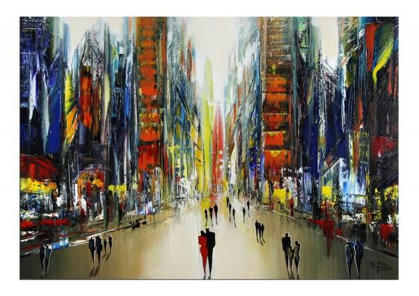 """Modernes Gemälde, Koroush Namazi: """"Unsere Zukunft I"""""""
