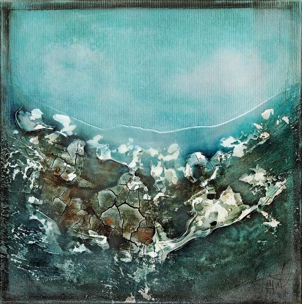 "A. Freymuth: ""Seascape II"", Originalgemälde (Unikat) (A)"