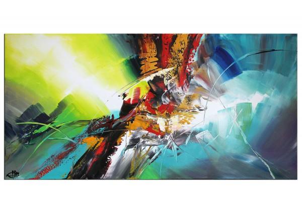 "Acrylgemälde, G. Hung: ""Fotoelektrischer Effekt IV"""