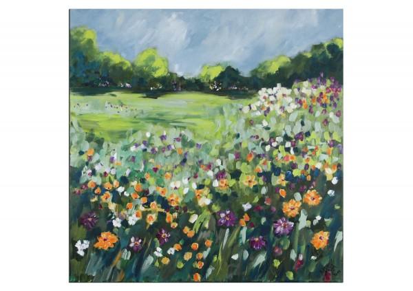"Moderne Landschaftsmalerei, Maya: ""Blütenträume"""