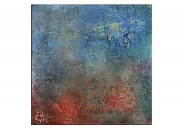 "Acrylmalerei abstrakt, A. Freymuth: ""Metamorphose"""