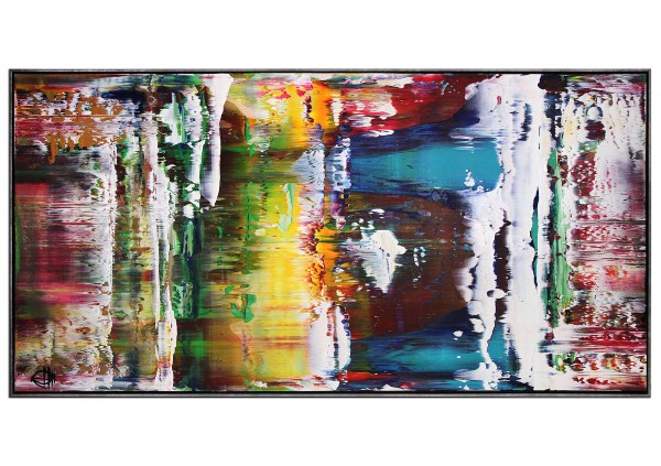 "Acrylgemälde, G. Hung: ""Realitätsverschiebung V"""