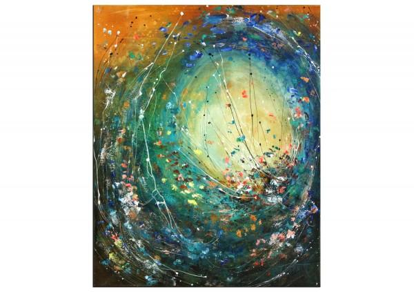 """Acrylbild von A. Freymuth: """"Lichtfänger"""""""