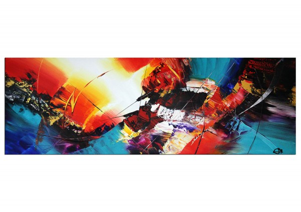 "Acrylgemälde, G. Hung: ""Farbblitze II"""
