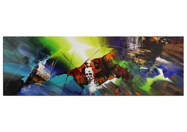 """Acrylgemälde (Original, Unikat), G. Hung: """"Fotoelektrischer Effekt III"""""""