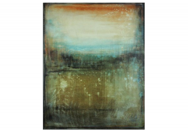 "Originalgemälde (Unikat), A. Freymuth: ""Hochmoor"", Acrylmalerei abstrakt (A)"