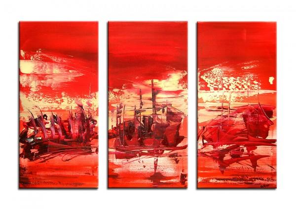 "Acrylgemälde, A.Rojo: ""SUMMER REGATTA"""
