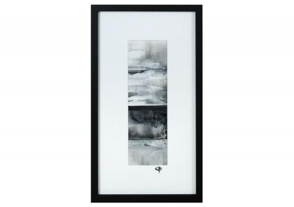 """Abstrakte Malerei, Gia Hung: """"Polarnacht I"""""""