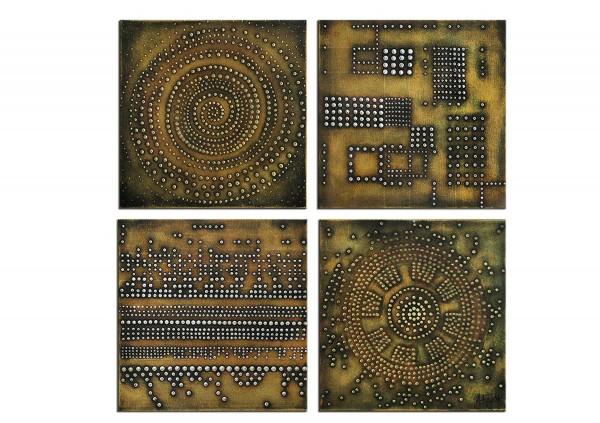 "Acrylbilder abstrakt, A. Freymuth: ""Kryptologie"" (A)"