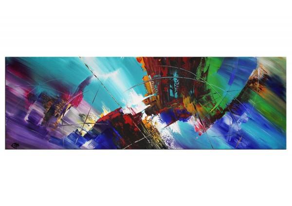 "Acrylgemälde, G. Hung: ""Farbarmada I"""