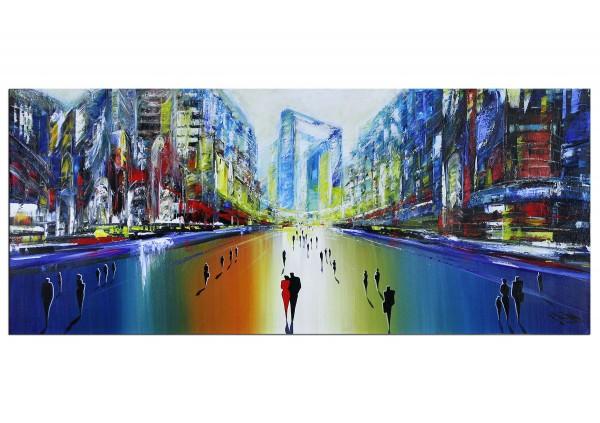 """Modernes Gemälde, K. Namazi: """"Jenseits der Zeit I"""" (A)"""