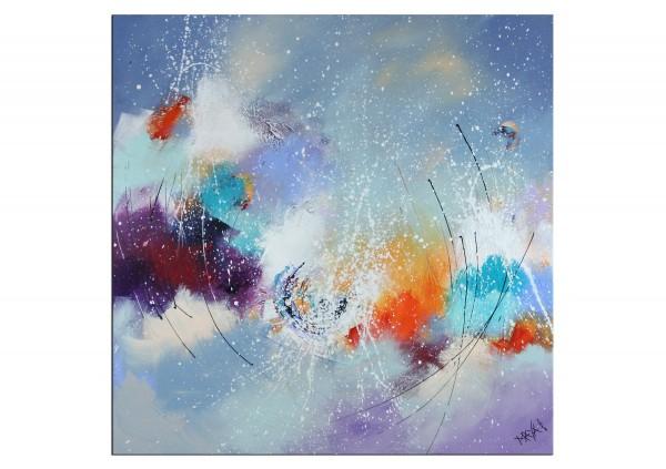 """Gemälde abstrakt, Maya: """"Wild heart"""""""