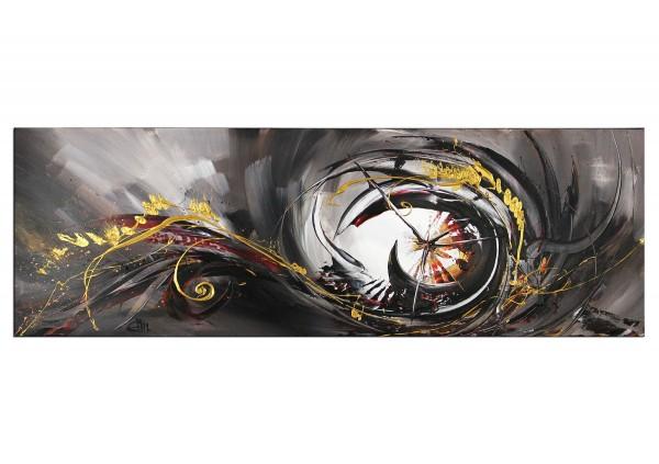 "Abstraktes Acrylgemälde, G. Hung: ""Glücksspiel I"""