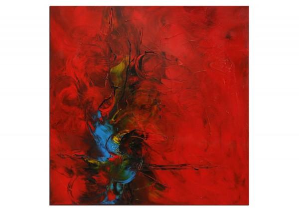 "Abstrakte Acrylmalerei, C. Middendorf: ""Kraftmagnet II"" (A)"