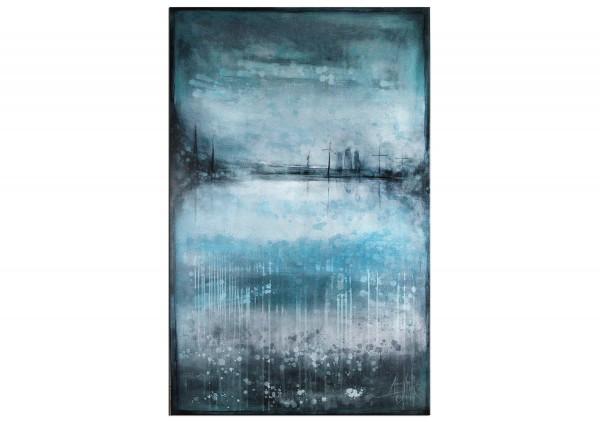 "Acrylmalerei abstrakt, A. Freymuth: ""Im Norden"""