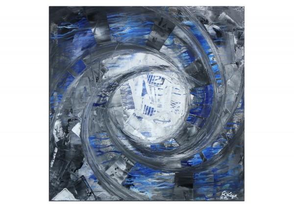 "Gemälde abstrakt, R.König: ""Aquatische Struktur II"""