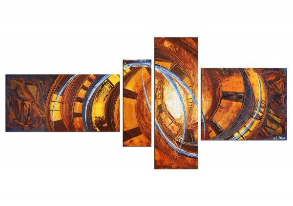 """Acrylbilder, R.König: """"New Pattern I"""" (ri)"""