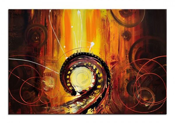 "Acrylgemälde, A. Rojo : ""INDUSTRIAL TIMES"", XL-Format"