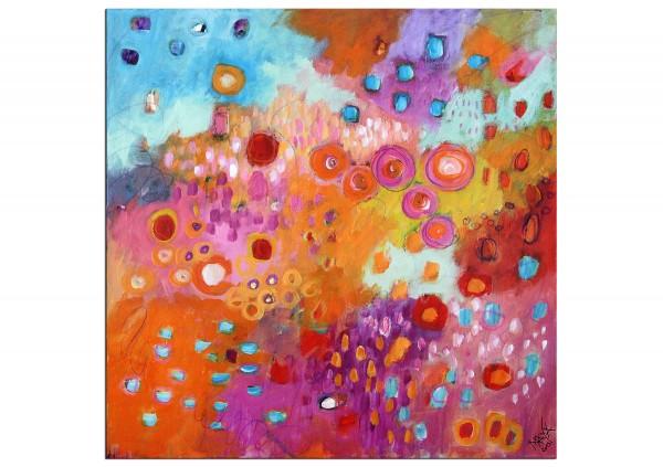 """Acrylbilder, Maya: """"Dream -Garden"""""""