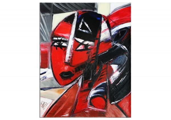 """Abstrakte Kunstbilder, K. Namazi: """"Female Bust"""""""