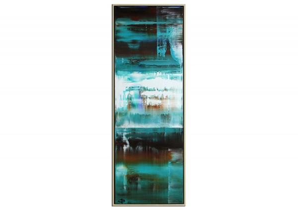 "Acrylgemälde, G. Hung: ""Nordische See"" (ri)"