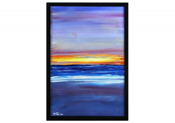 "Modernes Kunstbild, Julio Fernandez: ""Cable Beach I"" (ri)"