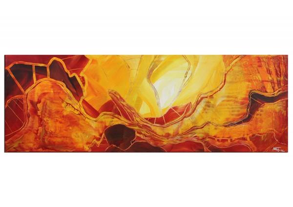 "Acrylbilder, J. Fernandez: ""Feuermeer III"" (ri)"