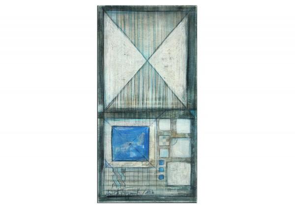 "Acrylbilder abstrakt, A. Freymuth: ""Geometrie"""