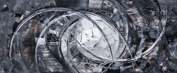 "R. König: ""Melting Stone II"", abstraktes Originalgemälde (Unikat)"