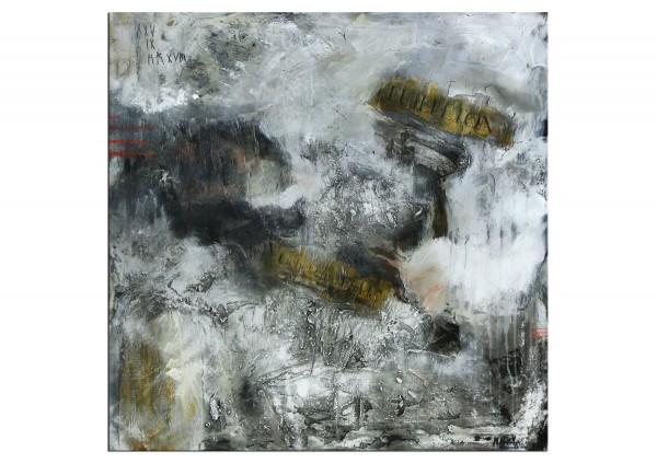 """Acrylbilder abstrakt, M.Rick: """"Liebet eure Feinde"""" (A)"""