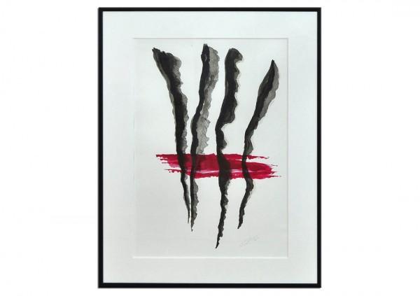 """Acrylgemälde, T. Peter: """"ZUSAMMENKUNFT"""""""