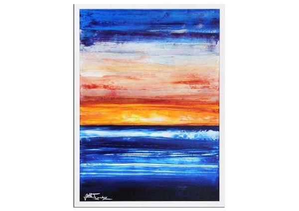 "Modernes Kunstbild, Julio Fernandez: ""Cable Beach II"" (ri)"