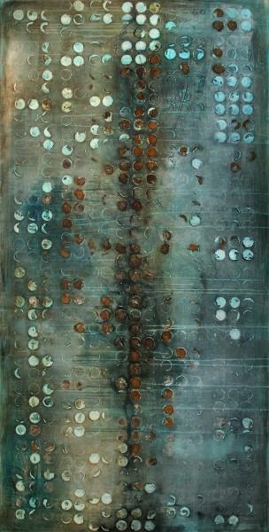 "A. Freymuth: ""Systemausfall"", Acrylmalerei abstrakt, Originalgemälde (Unikat) (A)"