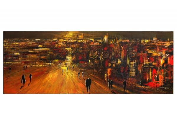 """Modernes Gemälde, K. Namazi: """"Abendlicht II"""" (A)"""