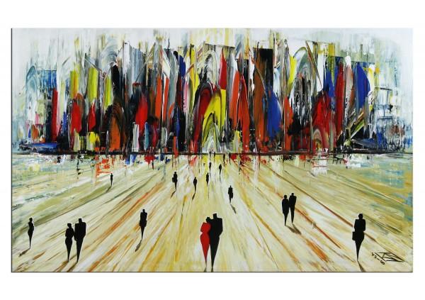 """Modernes Gemälde, K. Namazi: """"Im Herbst"""""""