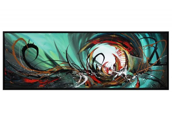 "Acrylgemälde, G. Hung: ""Turbulenzen I"" (E)"