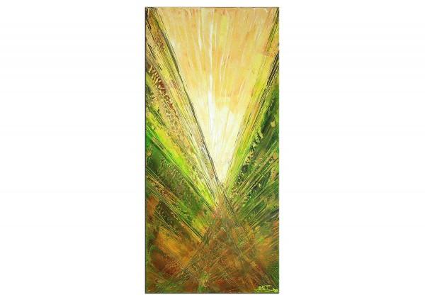 "Acrylmalerei abstrakt, Julio Fernandez: ""Springrays IV"" (ri)"