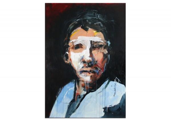 """Neoexpressionismus von J.J. Piezanowski: """"J'aurais dû"""" (A)"""