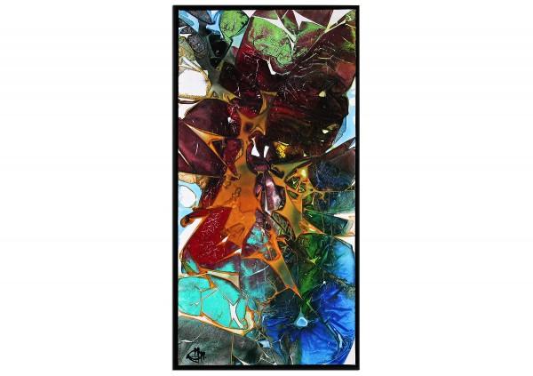 "Acrylgemälde, G. Hung: ""Streetart: Fragment III"" (ri)"